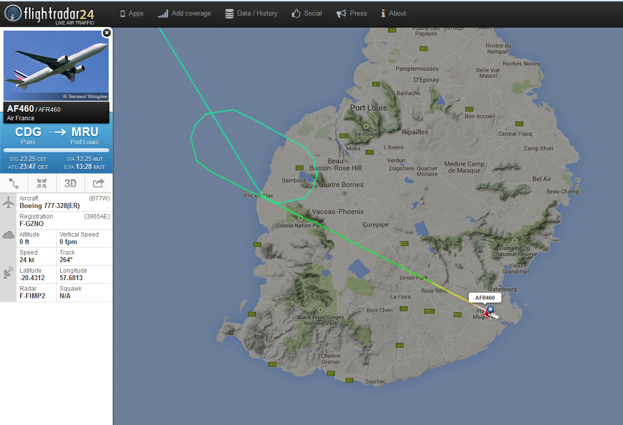 Flightradar24 F-FIMP2